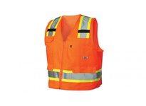 Pyramex RVZ2420FRX3 Hi-Vis Orange - Flame Retardant - Size 3X Large