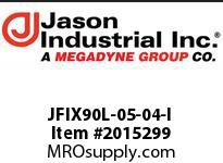 Jason JFIX90L-05-04-I JIC 37* 90* LONG ELB FEM SW