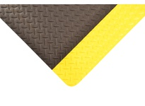 NoTrax 979R0024YB 979 Saddle Trax 2X75 Yellow/Black Saddle Trax is thicker heavier and stronger - engineered to meet the toughest requirements of todays industrial applications and is particularly suited for multi-shift operations in dry