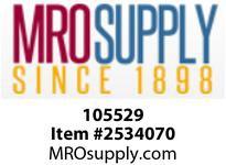 MRO 105529 2 x 1 SS 3000# 316 HEX BUSHING