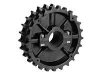614-40-45 NS820-25T Thermoplastic Split Sprocket With Keyway TEETH: 25 BORE: 45mm