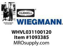 WIEGMANN WHVL031100120 HEATERPANELFAN100W120V