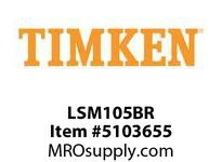 TIMKEN LSM105BR Split CRB Housed Unit Component