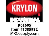 KRY K01605 Industrial 5-Ball Int/Ext Stone Gray Krylon 16oz. (6)