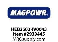 MagPowr HEB2503KV0043 HEB-250 PNEUMATIC BRAKE