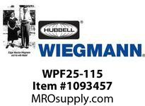 WIEGMANN WPF25-115 FANFILTERBEIGE115V50/60HZ