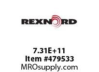 REXNORD 152447 730501060201 50 HCB 1.8750 BORE NSKWY