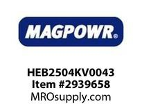 MagPowr HEB2504KV0043 HEB-250 PNEUMATIC BRAKE