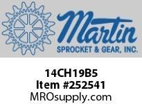 "Martin Sprocket 14CH19B5 14"" X 2 7/16"" 19B HANGER-OIL"