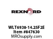 REXNORD WLT6938-14.25F2E WLT6938-14.25 F2 T20P SP CONTACT PLANT FOR ACCURATE DESCRIPT