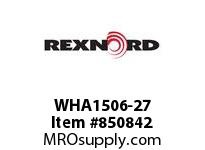 REXNORD WHA1506-27 WHA1506-27 WHA1506 27 INCH WIDE MATTOP CHAIN W