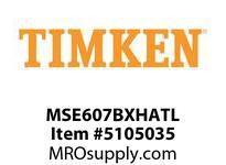 TIMKEN MSE607BXHATL Split CRB Housed Unit Assembly