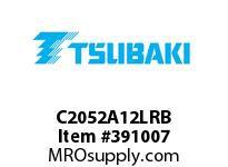 US Tsubaki C2052A12LRB C2052 RIV 2L/A-1