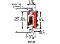 HBL-WDK CS1223GYU SWITCH COM 3W 20A 120/277V GY USA