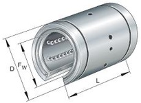 INA KBO2558PP Linear precision ball bearing