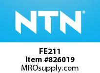 NTN FE211 Bearing Units - Cast Housing