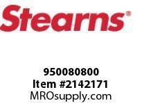 STEARNS 950080800 KEY 3/16 SQ X 1/2 LG STL 8089508