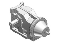 HUBCITY 0250-32063 HB2083AR 39.69 HELICAL-BEVEL DRIVE