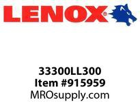 Lenox 33300LL300 LEADER BITS-LL300 LEADER 3 76MM 1/PK-LL300 LEADER 3 76MM 1X- LEADER 3 76MM 1/PK-LL300 LEADER 3 76MM 1X-