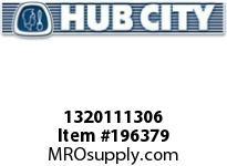 HUBCITY 1320111306 B250RX5/8 DURALINE BEARING INSERT