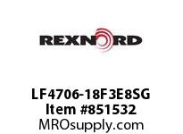 REXNORD LF4706-18F3E8SG LF4706-18 F3 T8P S3 SP CONTACT PLANT FOR ACCURATE DESCRIPT