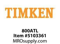 TIMKEN 800ATL Split CRB Housed Unit Component