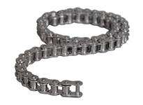 "HKK 35 Stainless chain 50' reel 3/8"" pitch riveted"