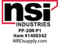 NSI PP-20R-P1 PP-20R POOL PANEL WITH P1101-M INSTALLED