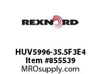 REXNORD HUV5996-35.5F3E4 HUV5996-35.5 F3 T4P N2 HUV5996 35.5 INCH WIDE MATTOP CHAIN