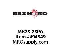 MB25-25PA BRG& S.S. MB25-25-PA 5800064