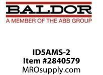 BALDOR ID5AMS-2 AUTO/MAN SWITCH NEMA 4X ID5205 & ID5410 :