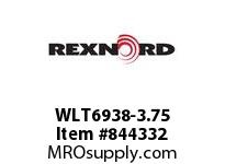 REXNORD WLT6938-3.75 WLT6938-3.75 WLT6938 3.75 INCH WIDE MATTOP CHAIN
