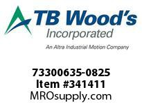 TBWOODS 73300635-0825 73300635-0825 11S M-SF CPLG