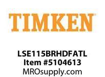 TIMKEN LSE115BRHDFATL Split CRB Housed Unit Assembly