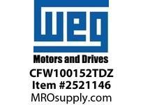 WEG CFW100152TDZ CFW10 15.A 230V/3PH to 230/3PH VFD - CFW