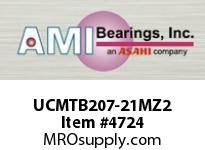 AMI UCMTB207-21MZ2 1-5/16 ZINC WIDE SET SCREW STAINLES SSHOUSING W/ZINC COATED BEARING