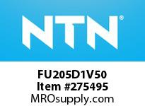 NTN FU205D1V50 CAST HOUSINGS