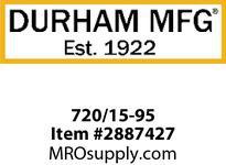 Durham 720/15-95 15^ LEG #95 GRAY