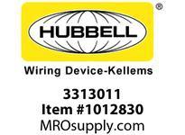 HBL-WDK 03313011 GRIP WSTRN ELEC 2.25-3.00 2 1/2 STL