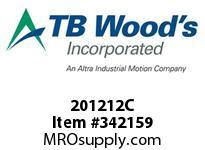 TBWOODS 201212C 20X12 1/2-J CR PULLEY