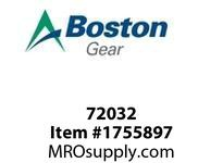 Boston Gear 72032 039273-044-00000 BEARING BALL #B546-DD