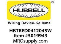 HBL_WDK HBTRED041204SW WBPRFRM RADI REDUCE4HX12W TO 4WSTLWLL