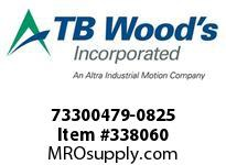 TBWOODS 73300479-0825 73300479-0825 13S T-SF CPLG