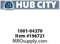 HUBCITY 1001-04370 PB251NX1-5/8 PILLOW BLOCK BEARING