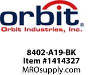 Orbit 8402-A19-BK 32^ BOLLARD MEDIUM BASE SOCKET NO-LAMP -BLACK