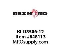 REXNORD RLD8506-12 OBS - NO REPLACEMENT RLD8506 12 INCH WIDE MATTOP CHAIN W