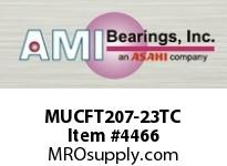 AMI MUCFT207-23TC 1-7/16 STAINLESS SET SCREW TEFLON 2 BRG TEFLON COAT HOUSING