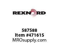 REXNORD 172299 587588 262.S71-8.CMBR C=7.00