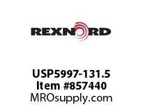 REXNORD USP5997-131.5 USP5997-131.5 USP5997 131.5 INCH WIDE MATTOP CHAI