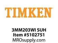 TIMKEN 3MM203WI SUH Ball P4S Super Precision